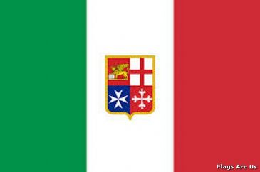 Italy Civil Ensign